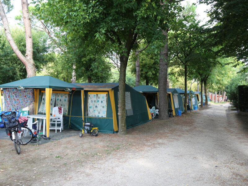 Piazzola - camping tents