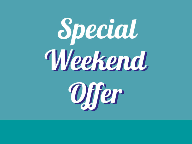 Special Weekend Offer thumb